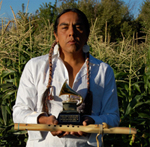 Woodsounds Native Americcan Flute player Robert Mirabal