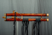 Chechen Native American Flute, Minor, Mid G - 4, #K11Da (9)