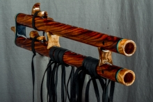 Chechen Native American Flute, Minor, Mid G - 4, #K11Da (7)