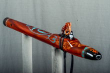 Padauk Native American Flute, Minor, Mid G - 4, #K11K (3)