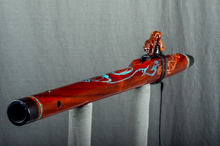 Padauk Native American Flute, Minor, Mid G - 4, #K11K (5)