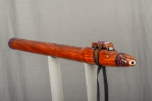 Grenadillo  Native American Flute, Minor, Low D - 4, #L11B (3)