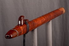 Redwood Burl Native American Flute, Minor, Low D - 4, #L30F (1)