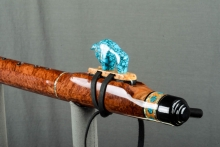 Red Mallee Burl Native American Flute, Minor, Low E - 4, #L56E (2)