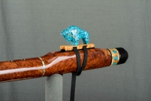 Red Mallee Burl Native American Flute, Minor, Low E - 4, #L56E (4)