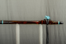 Brazilian Rosewood Native American Flute, Minor, Mid G - 4, #M32K (10)