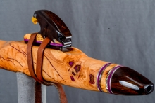 Cherry Burl Native American Flute, Minor, Mid G - 4, #N10H (3)