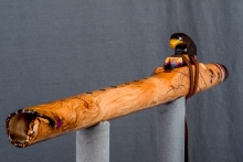 Cherry Burl Native American Flute, Minor, Mid G - 4, #N10H (5)