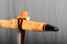 Yellow Cedar Burl Native American Flute, Minor, Mid A - 4, #N25A (12)