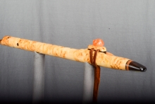 Yellow Cedar Burl Native American Flute, Minor, Mid A - 4, #N25A (2)