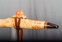 Yellow Cedar Burl Native American Flute, Minor, Mid A - 4, #N25A (3)