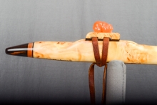 Yellow Cedar Burl Native American Flute, Minor, Mid A - 4, #N25A (7)