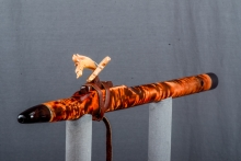 Curly Poplar Native American Flute, Minor, High C - 5, #N31F (1)