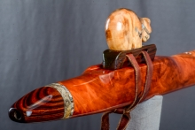 Redwood Hanging Burl Native American Flute, Minor, Mid F# - 4, #N34G (0)