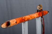 Redwood Hanging Burl Native American Flute, Minor, Mid F# - 4, #N34G (5)