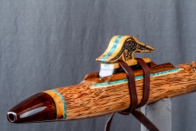 Red Palm  Native American Flute, Minor, Mid F# - 4, #N5F