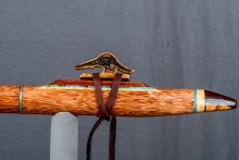 Red Palm  Native American Flute, Minor, Mid F# - 4, #N5F (11)