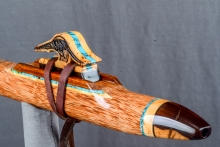 Red Palm  Native American Flute, Minor, Mid F# - 4, #N5F (3)