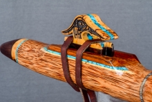 Red Palm  Native American Flute, Minor, Mid F# - 4, #N5F (4)