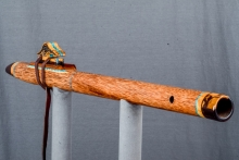Red Palm  Native American Flute, Minor, Mid F# - 4, #N5F (5)