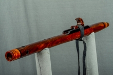Texas Ebony Native American Flute, Minor, High E - 5, #N8E (5)