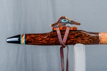 Red Palm  Native American Flute, Minor, Mid G - 4, #N9I (10)