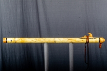 Yellow Cedar Burl Native American Flute, Minor, Bass A - 3, #O11B (10)