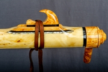 Yellow Cedar Burl Native American Flute, Minor, Bass A - 3, #O11B (11)