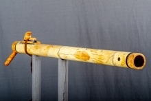 Yellow Cedar Burl Native American Flute, Minor, Bass A - 3, #O11B (6)