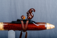 Snakewood Native American Flute, Minor, Low E - 4, #O1B (13)