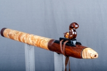 Snakewood Native American Flute, Minor, Low E - 4, #O1B (2)