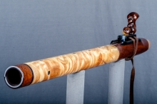Snakewood Native American Flute, Minor, Low E - 4, #O1B (5)