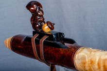 Snakewood Native American Flute, Minor, Low E - 4, #O1B (7)
