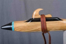 Black Locust Wood Native American Flute, Minor, Low D-3, #O24C (7)